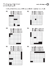 Square Arrangements: Practice p. 61 Thumbnail