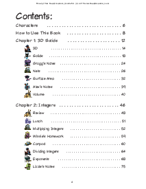 Guide Book: Table of Contents Thumbnail