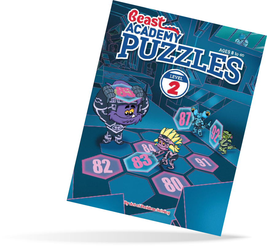 Beast Academy Puzzles 2 Book