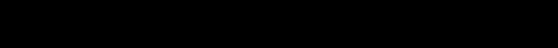 A number line from zero to twenty
